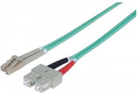 Opinie o Intellinet Network Solutions Kabel światłowodowy LC SC 3m Niebieski 750165