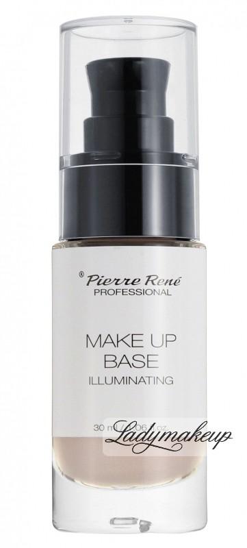 Opinie o Pierre Rene Pierre René - MAKE UP BASE ILLUMINATING - Rozświetlająca baza pod makijaż PR531708