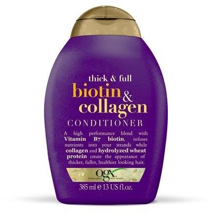Organix Cosmetix Biotyna i Kolagen odżywka z biotyną i kolagenem 385ml