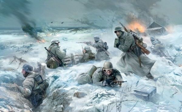 Zvezda German Infantry Eastern Front 3627