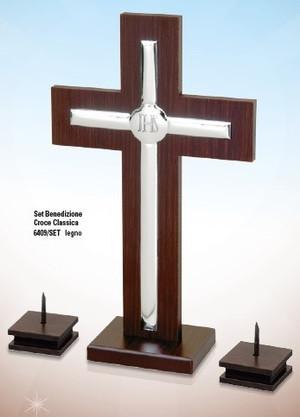 Beltrami Komplet krzyż i œwiecziki - (BC#6409_SET)