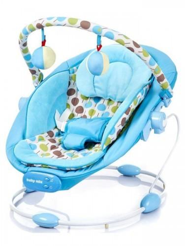 Baby Mix Alexis Leżaczek niebieski LCP-BR245-007 30871