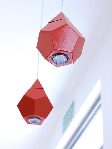 Lira Lightning Lighting :: Origami Drop czerwona QR111 3041.1100.92