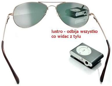 Spy Electronics LTD. Szpiegowskie Okulary Przeciwsłoneczne