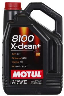 Motul 8100 X-clean PLUS 5W-30 5L