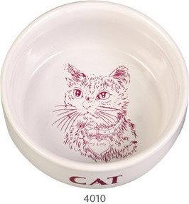 Opinie o Trixie Miska porcelanowa dla kota o 11 cm, 0,3 l TX-4010
