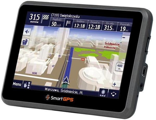 smartGPS SG750 Automapa Europa