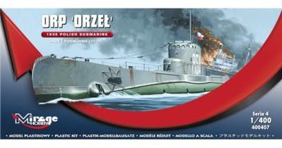 Mirage Hobby Okręt podwodny ORP Orzeł 1939 MMH-400407