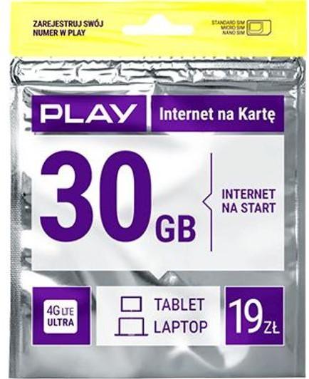 Opinie o Play Internet na kartę 19PLN