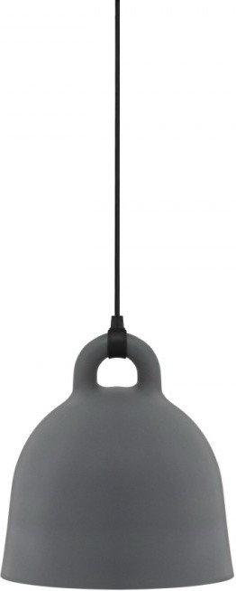 Normann Copenhagen Lampa Bell Szary Duża 502115