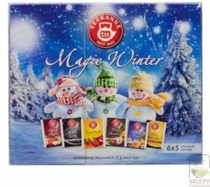 TEEKANNE Teekanne Magic Winter collection 30 kopert TEEK MAGIC WINTER