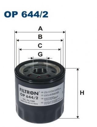 Filtron Filtr oleju OP 644/2