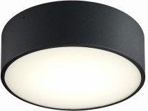 Kaspa Disc LED 25 plafon Czarny 30305102
