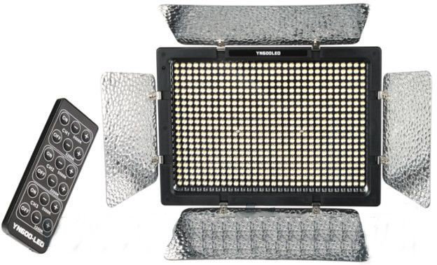 Yongnuo Lampa studyjna Panelowa LED, model YN600L + zasilacz sieciowy