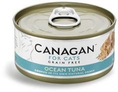 Canagan Ocean Tuna  For Cats (Tuńczyk Oceaniczny)  75G