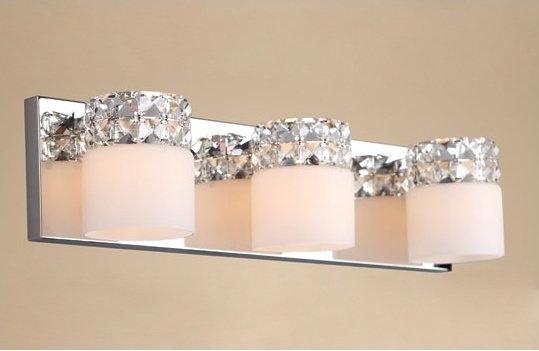 Maxlight Kryształkowa LISTWA ścienna OPRAWA Kinkiet LAMPA salonowa ROYAL W0314-03A kryształki Chrom