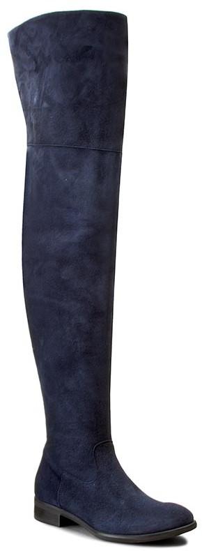 Gino Rossi Muszkieterki Miwa DKH150-S95-4K00-5700-0 59 skóra naturalna/zamsz