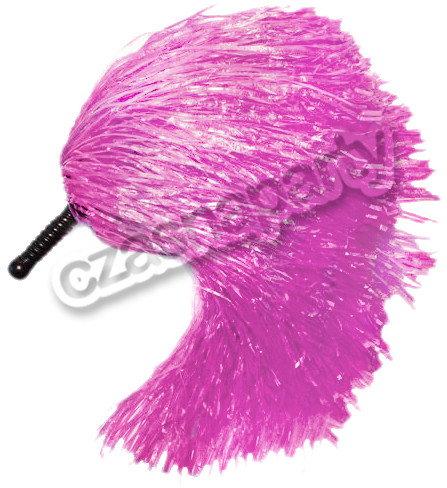Pompon cheerleaderki - różowy 1 szt.