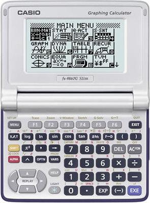Casio FX- 9860 G