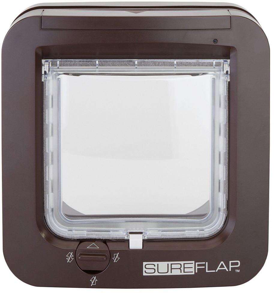 Opinie o SureFlap Drzwi z mikrochipem, brązowe - kolor brązowy