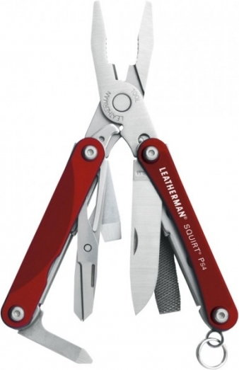 Leatherman Squirt PS4 Red 831227