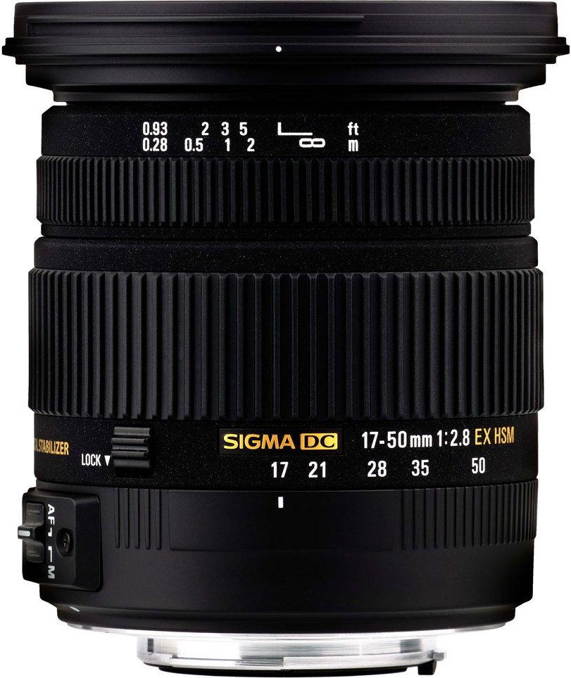 Sigma 17-50mm f/2.8 EX DC OS HSM Nikon (583955)