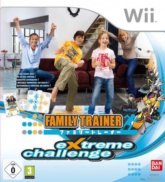Family Trainer: Extreme Challenge Wii