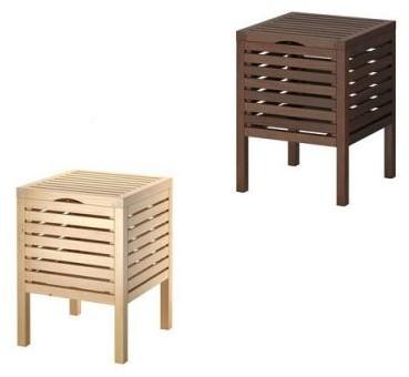 Ikea Taboret Stołek Ze Schowkiem 90241458