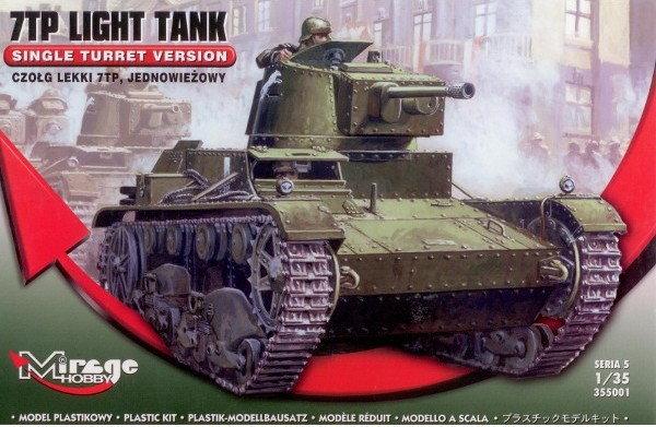 Mirage Hobby 7TP Czołg Lekki Jezdniowy 355001