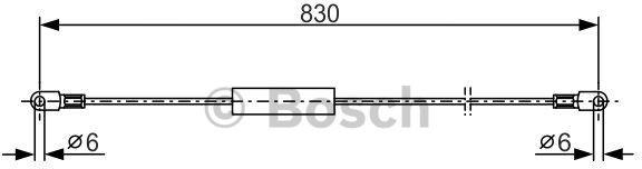 Opinie o BOSCH Linka hamulcowa prawa, 1 987 477 347 - Bezpłatny zwrot do 30 dni, największy wybór produktów. 1987477347