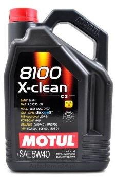 Motul 8100 X-clean C3 5W/40 5L