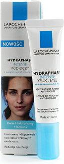 Opinie o La Roche-Posay Hydraphase Intense pod oczy Żel intensywnie nawilżający przeciw opuchnięciom 15 ml