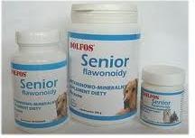 Dolfos Senior - preparat mineralno - witaminowy dla starszych psów 90tab.