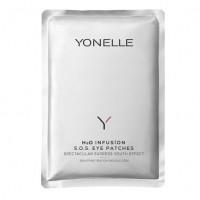 Opinie o Yonelle H2O Infusion, infuzyjne płatki S.O.S. pod oczy, saszetka 1szt.