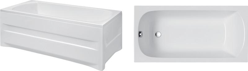 Polimat Classic 160x70 biała 00854