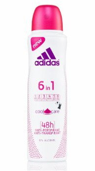 adidas 6 IN 1 DEO spray ANTYPERSPIRACYJNY COOL&CARE 150ml