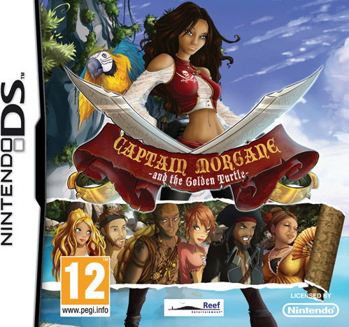Captain Morgane and the Golden Turtle NDS