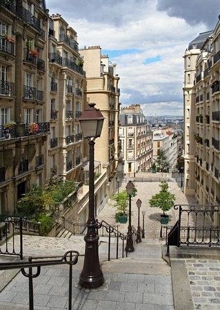 Komar Paris Montmartre - fototapeta