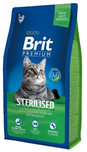 Brit Premium Cat New Sterilised 8 kg