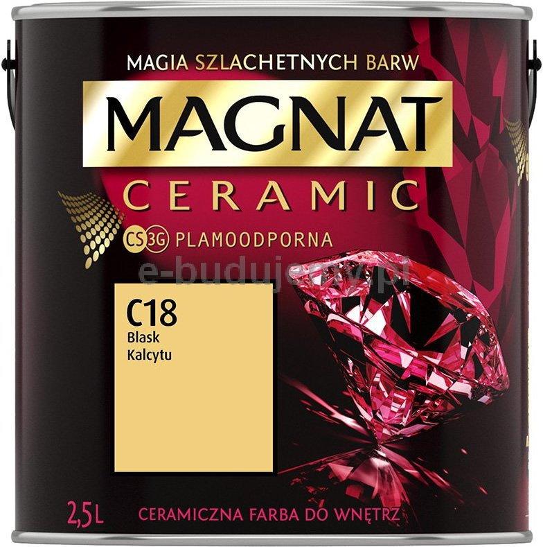 Magnat Ceramic 2 5l Ceramiczna Farba Do Wnetrz C18 Blask Kalcytu