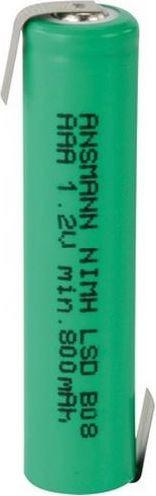 Ansmann Akumulator do przylutowania 1xAAA 800mAh 2311-3003