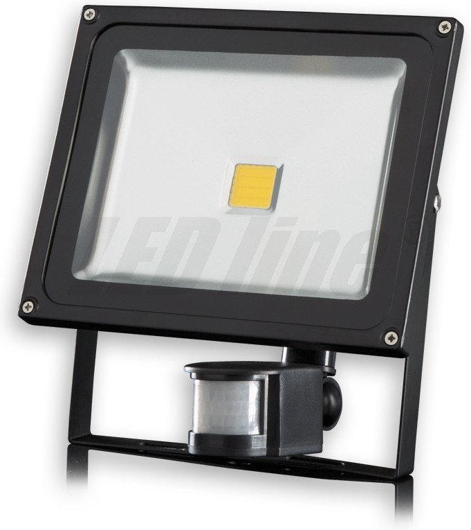 Led line Naświetlacz / Halogen LED 50W z czujnikiem ruchu IR biały zimny 243257