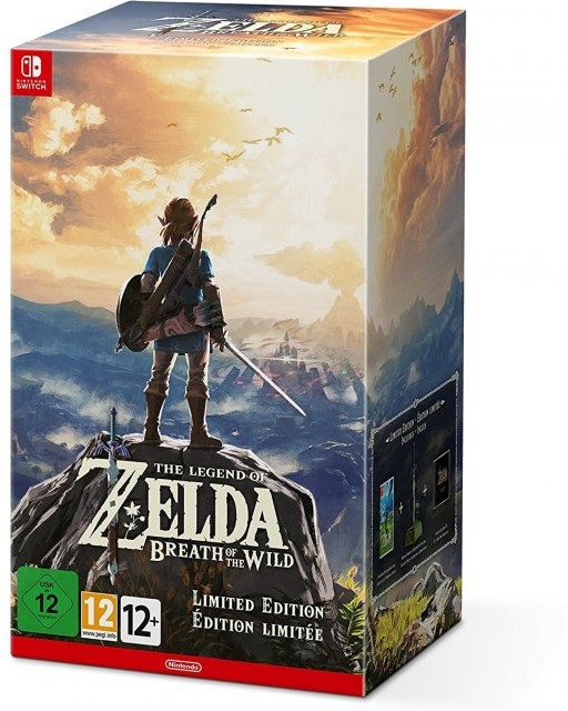 Opinie o The Legend of Zelda: Breath of the Wild Limited edition NSWITCH