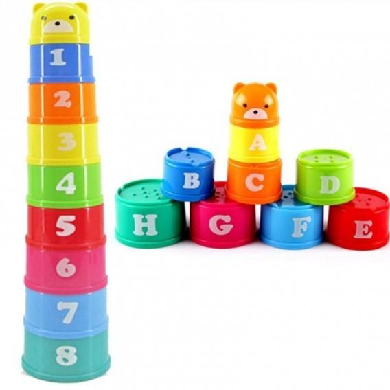 Zabawka Edukacyjna klocki liczby i litery KX9722
