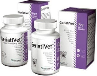VetExpert GeriatiVet Dog 45 tabletek