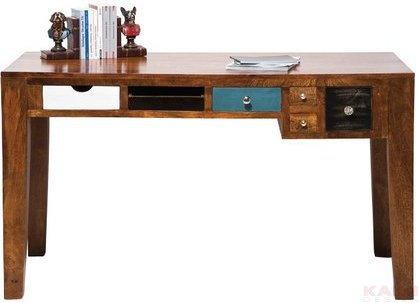 Kare Design Modern Vintage biurko z drewna Mango 135x60 cm, Malibu 76853