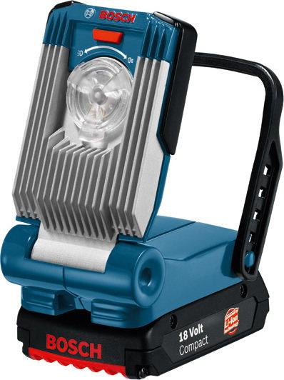 BOSCH NIEBIESKI Lampy akumulatorowe GLI VariLED 0601443400