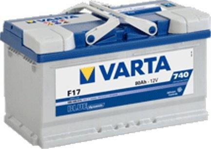 Varta Blue Dynamic F17 80 Ah 740 A P+
