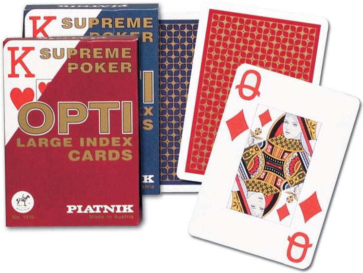 Piatnik Karty do gry Opti poker
