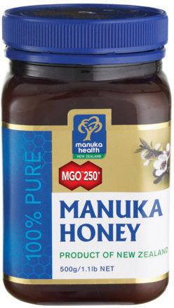 Manuka Health Miód MGO250+ 500g